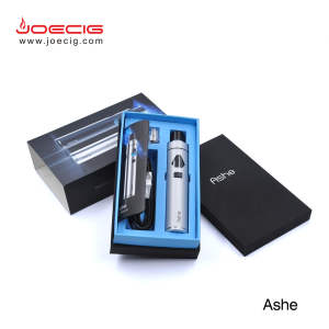 Children lock function joecig Ashe electronic cigarette 2017 ashe aio