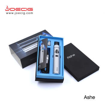 New Ashe AIO TPD ecig from Joecig OEM welcomed best vaping no leaking