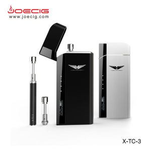 New vaper best ecig choice Joecig new pcc case rechargable case with atomzier refillable