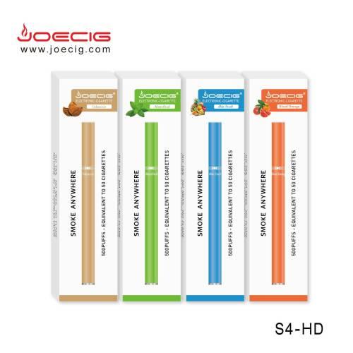 500抽泡电子香烟一次性e香烟S4-hd来自中国