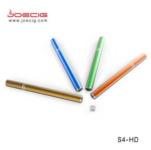 Shenzhen e -cigarette colorful rainbow e shisha S4-HD vape pen kit