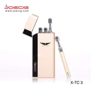 新的ecig设计Joecig X-TC3 OEM欢迎没有泄漏的可再填充雾化器