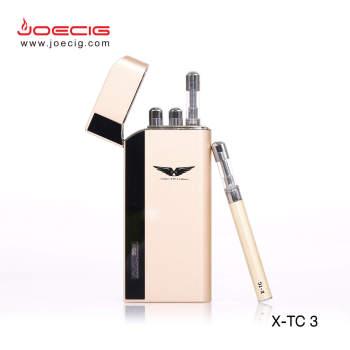 Desain ecig baru Joecig X-TC3 OEM menyambut TANPA KEBOCORAN alat penyemprot isi ulang