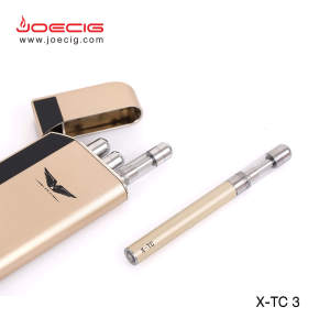 Smallest Ecig PCC Rechargeable Ecigarette Jinnuo hot selling pcc case X-TC3