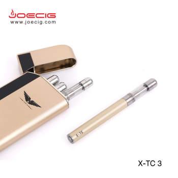 أصغر Ecig PCC قابلة للشحن Ecigarette Jinnuo حار بيع pcc حالة X-TC3