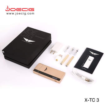 Fashionnable Vaporizer Mini E香烟套件,带可充电PCC外壳X-TC3