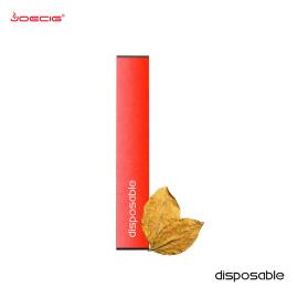 热门尼古丁一次性粉扑棒Vape笔1.2ml菠萝柠檬水Vape Pod