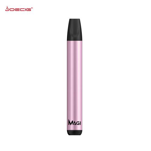 Joecig Mini mod 1500puffs طقم كبسولات بخار فارغة للاستعمال مرة واحدة 1000 مللي أمبير قلم مبخر للأعشاب الجافة