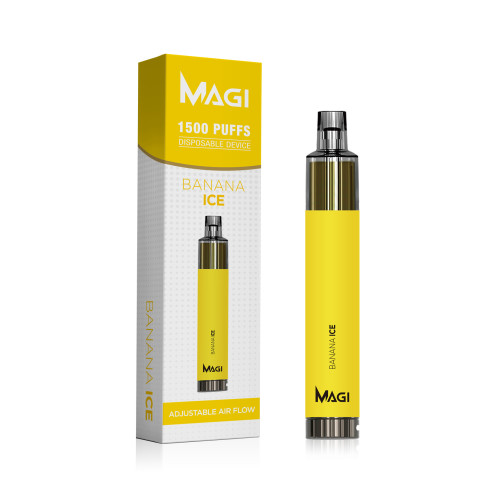 Joecig Magi1500puffs調整可能な気流ecigホットセルUSA