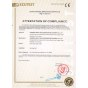 CE certificate for Water chiller HTI series