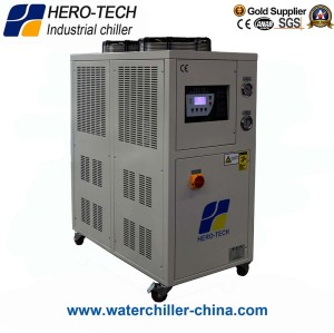 Portable air cooled industrial chiller 5hp/HTI-5A