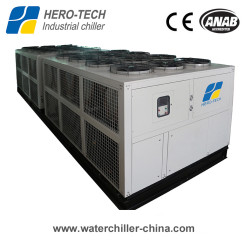 Dual loops air cooled screw chiller 80ton to 300ton