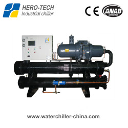 Screw type water-cooled glycol chiller HTSL-50W
