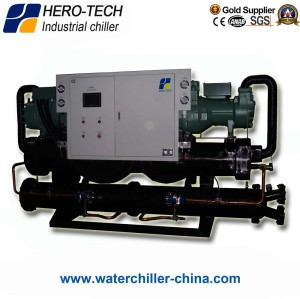 Water cooled screw chiller HTS-100WD/100TON