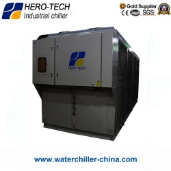 air cooled screw chiller 100HP/100TON