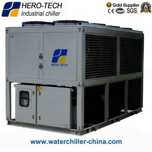 air cooled screw chiller 75HP/75TON