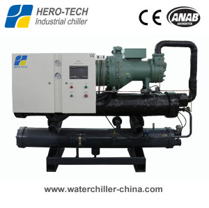 Water cooled screw chiller 40ton to 270ton