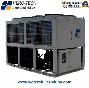 Screw Type Air-cooled Glycol Chiller HTSL-240AD