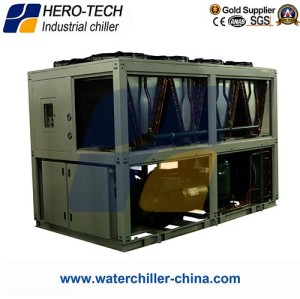 Screw Type Air-cooled Glycol Chiller HTSL-160AD