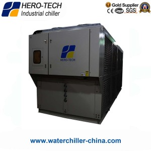 Screw Type Air-cooled Glycol Chiller HTSL-80AD
