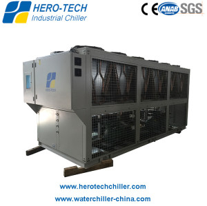 Screw Type Air-cooled Glycol Chiller HTSL-100AD