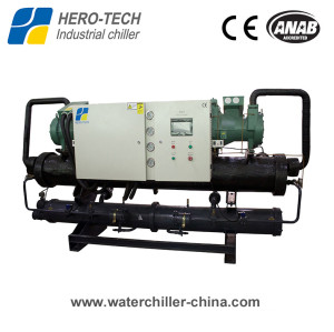 Screw type water-cooled glycol chiller HTSL-540WD