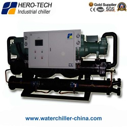Screw type water-cooled glycol chiller HTSL-400WD