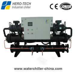 Screw type water-cooled glycol chiller HTSL-240WD