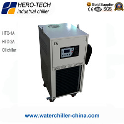Oil cooling machine oil chiller