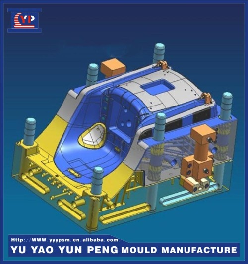 High Quality Office Chair Base Plastic Injection Mold Manufacturers, Precision Injection Molding Plastic Molded