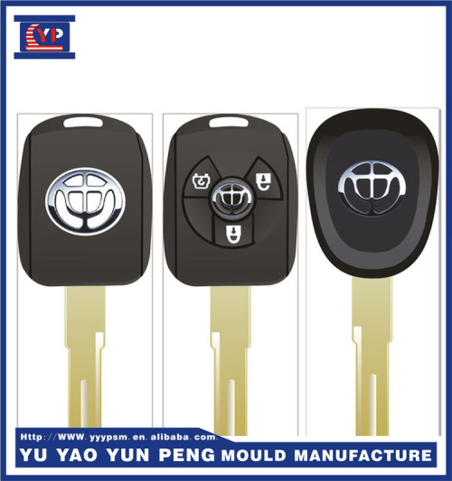 Custom Injection moldina-xcentric mold manufacturer for button remote control shell for car key