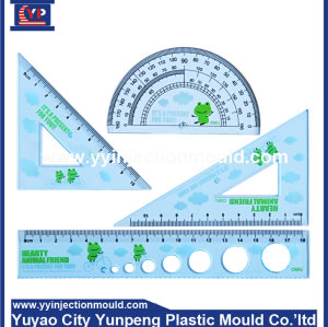 professional factory dircet sale colorful plastic ruler injection mould  (From Cherry)