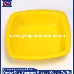 Plastic plate dish injection mould making (from Tea)
