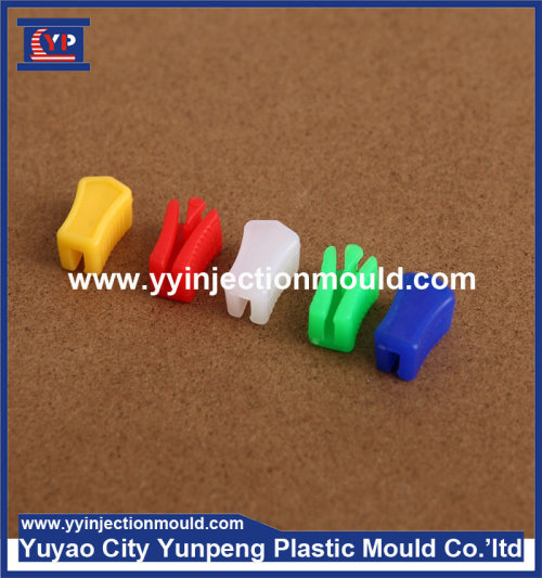 Professional plastic injection mould for multiple cavities zipper puller slider mold  (From Cherry)