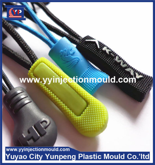 Plastic Zipper Slider And Puller Injection Mould Maker  (From Cherry)