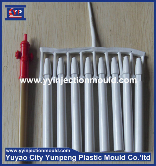 produce high quality newly designed plastic pen mold making/Plastic ballpoint pen mould (from Tea)