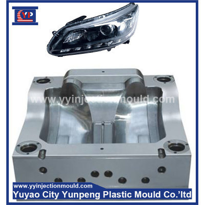 LED lighted car head lamp plastic mould factory