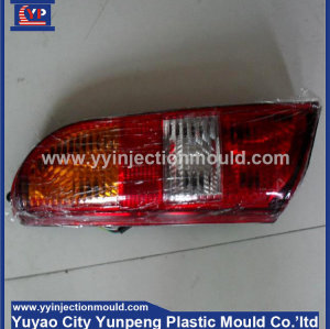 Plastic car light cover mold/security car lamp mold