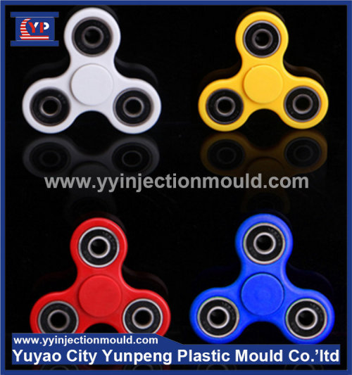 Top level plastic Plastic double color Finger Spinner Injection Molding mould