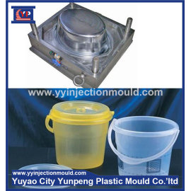 Plastic water bucket mould Customize mold making