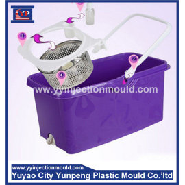 Guaranteed Quality Injection Plastic Mop Bucket Mold