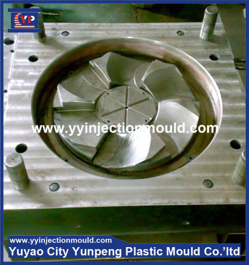 China manufacturer home appliances box fan fan winding machine Plastic parts mould (from Tea)