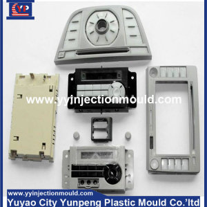 Plastic injection mould making for car accessory plastic parts (from Tea)