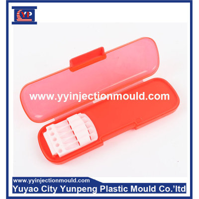 Custom Made Plastic Making Mould For injection Pencil Box (from Tea)