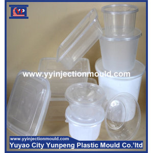 4 Cavities Round Thin Wall Box Mold/Mould (from Tea)