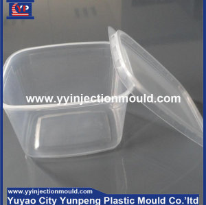 ODM thin wall plastic food box container mould for injection (from Tea)