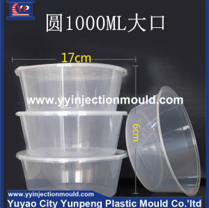 Thin wall injection plastic mould plastic box moluld plastic injection mould (from Tea)