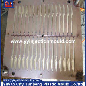 Best products plastic part injection moulders for kitchen accessories plastic fork/plastic spoon mould  (From Cherry)