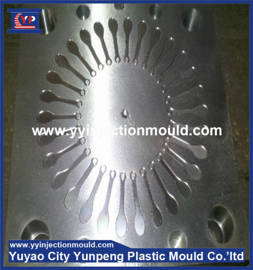 plastic injection spoon mould/mold custom moulding knives with multi cavity (from Tea)