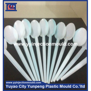 custom plastic fork spoon knife injection mould supplier (from Tea)